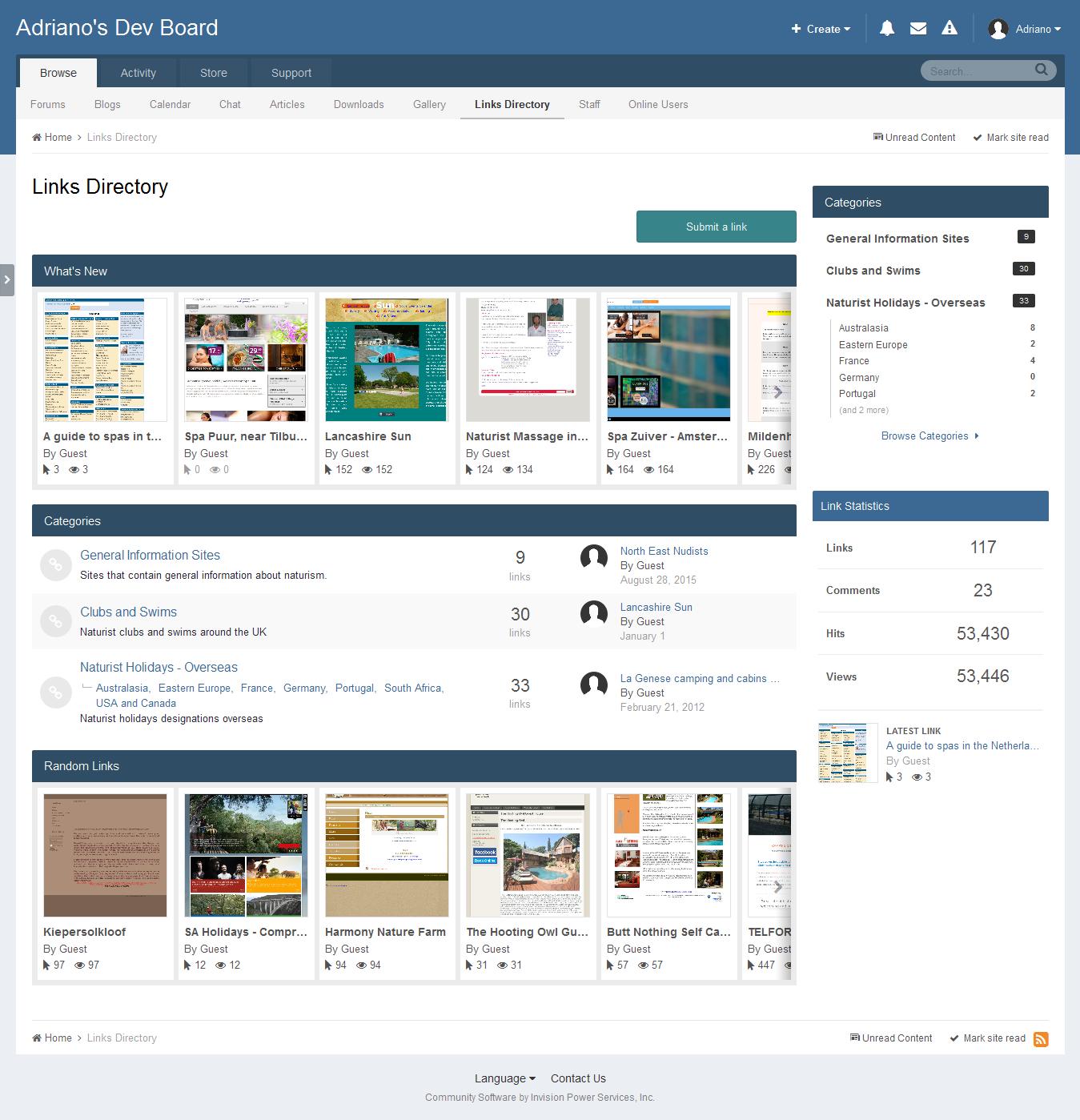 Links Directory