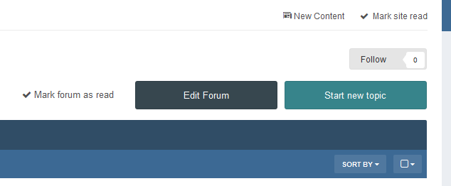 Quick Manage Forums